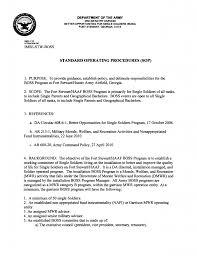 sop format template 45 sop formats standard operating procedure