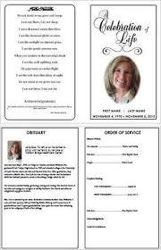 memorial program templates how to write a funeral program obituary template sle
