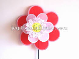promotional colorful flower kids toy windmill garden pinwheel