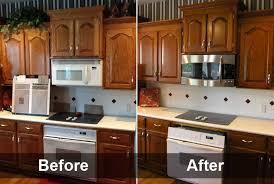 refinishing oak kitchen cabinets attractive inspiration ideas 16