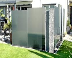 sichtschutz alu glas kreative ideen für ihr zuhause design