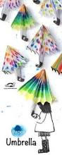 Decorated Paper Rainy Day Spring Craft Adorable Decorated Paper Umbrellas For