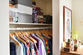 closet makeover how a real life messy chaotic closet got clean