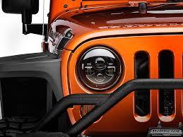 headlights jeep wrangler raxiom wrangler led headlights j103746 07 17 wrangler jk free
