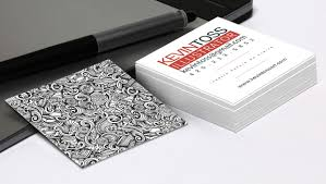 business card design tips 7 overlooked square business card design tips printplace