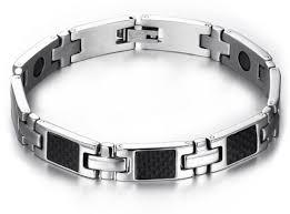 black magnetic bracelet stainless images China fashion men hematite magnetic bracelet stainless steel chain jpg