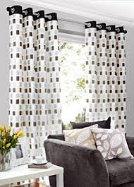 black grey sand cream lined voile curtains eyelet heading 56