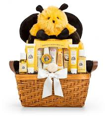 Gift Baskets With Free Shipping Mommy And Baby Cute As Can Bee Baby Gift Baskets