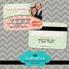 15 best wedding credit card invitations images on