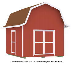 Barn With Loft by Tall Gambrel Barn Style Sheds