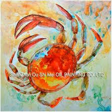 popular crab wall art buy cheap crab wall art lots from china crab