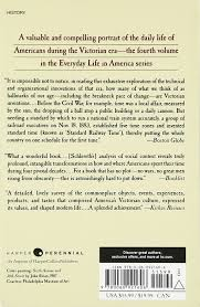 victorian america transformations in everyday life 1876 1915