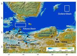 Baltic Sea Map Baltrap Iow