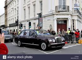 bentley maroon the queen s bentley car leamington spa uk stock photo royalty