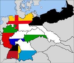 German States Map The German Empire Divided By The Allies Imaginarymaps