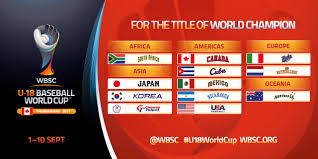 nations groups announced for wbsc u 18 baseball world cup 2017