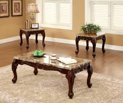 3 piece living room set lechester 3 piece occasional table set from furniture of america