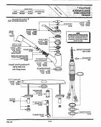 how to repair single handle kitchen faucet moen single handle kitchen faucet repair diagram