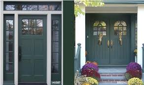 Colonial Exterior Doors Door On The Left Like The Size Of The Wood And Window Panels Are