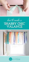 Where Can I Buy Shabby Chic Furniture by How To Make A Shabby Chic Window Valance In Minutes One Good