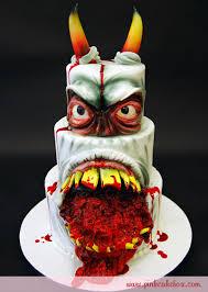 halloween cake wedding favor ideas