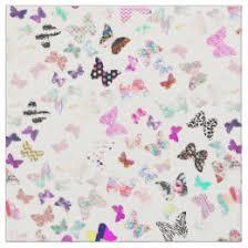 butterfly pattern fabric zazzle co uk
