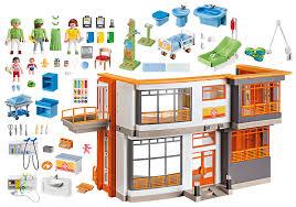 K Heneinrichtung Kaufen Kinderklinik Mit Einrichtung 6657 Playmobil Deutschland