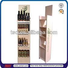 tsd m926 bottle shaped wine rack retail red wine display tower
