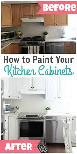 how to paint kitchen cabinets white how to paint kitchen cabinets happy home