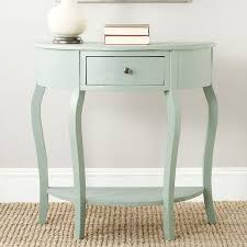 half round console table popular of half moon accent table with stylish half circle accent