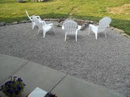 Patio Plus Outdoor Furniture by Exterior Pea Gravel Patio For Traditional Patio Floor Design