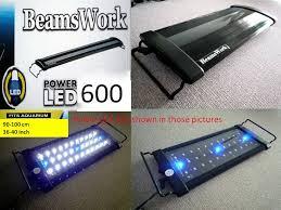 30 led aquarium light beamswork aquarium power led 600 light l 90 120cm 36 48 tank