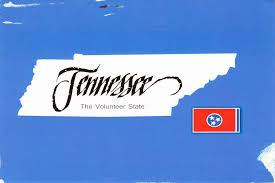 Tn State Map by Tennessee Deltiolog