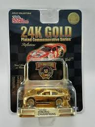 50th anniversary gold plate racing chions 24k gold plated commemorative series 50th