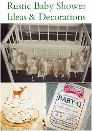 decorations for a baby shower 20 rustic baby shower ideas rustic baby chic