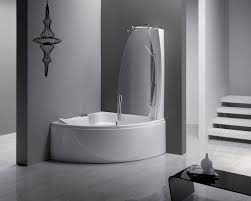 Shower Bathtub Combo Designs Appealing Bathroom With Shower Bath Combo Feat White Color
