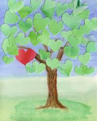 make a tree card quinncreative