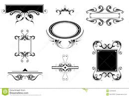 vintage ornaments stock vector image of abstract ancient 35484539