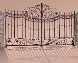 wrought iron gate custom entrance gates ornamental gates
