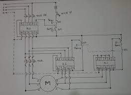 motor starter wiring diagram pdf dol for single phase schneider