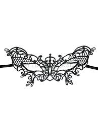 lace mask butterfly masquerade party fancy black lace mask