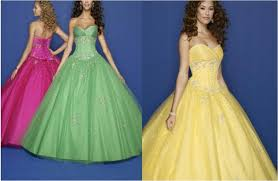tropical paradise prom dress