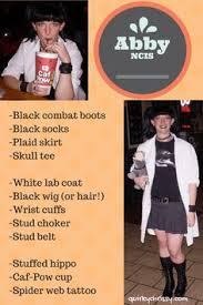 Abby Sciuto Halloween Costume Ncis Personalized Lab Coat Wanna Abby Halloween