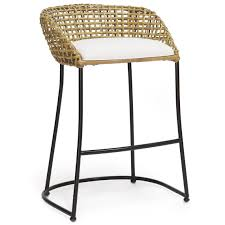 Kitchen Stools For Island Style by Airy And Organic Palecek U0027s Vero Barstool Boasts Island Style