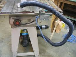 table saw vacuum dust collector homemade table saw dust collector homemadetools net
