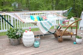 Hammock Backyard Home Tropical Backyard Hammock Retreat Lauren Mcbride