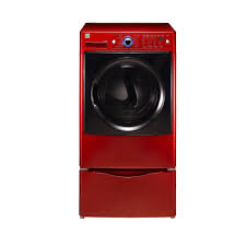 kenmore elite cu ft gas steam dryer red sears idolza