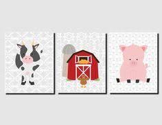 Farm Animal Nursery Decor Forest Nursery Abc Nursery Wall Baby Forest Animals Nursery