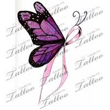 cancer ribbon tattoo designs marketplace tattoo breast cancer