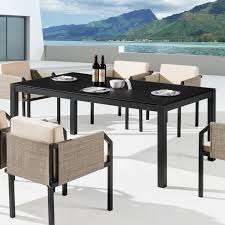 Frosted Glass Dining Room Table Barite Dining Table Tb Outdoor Design Outdoor Furniture